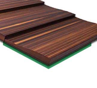 Akustické tvarované dyhované dosky INOIS® S-WAVE a M-WAVE