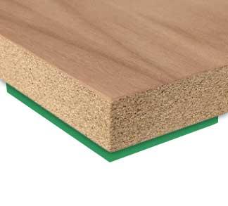Protipožiarna doska dyhovaná okrasnou dyhou alebo laminovaná FIREPLAC® A2