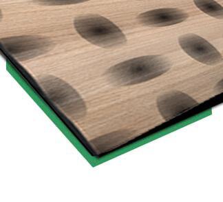 europlacEDELHOLZ Formenhybrid dyhovaný 3D povrch INDEWO®