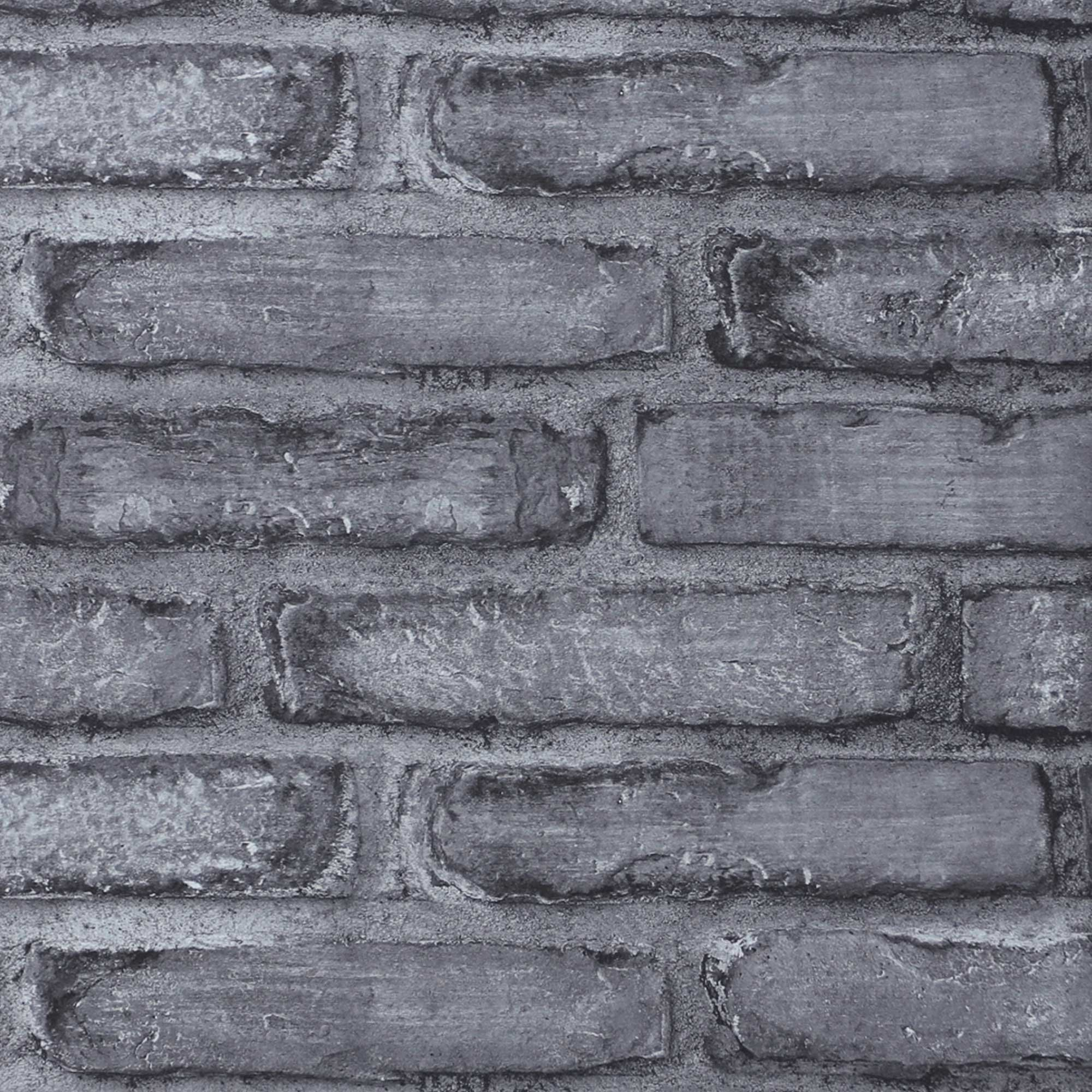 Tehlový múr šedý INDEWO® GRAPHIC