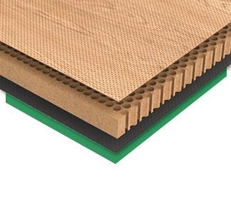 Akustická mikro perforovaná dyhovaná doska INOIS® MICRO
